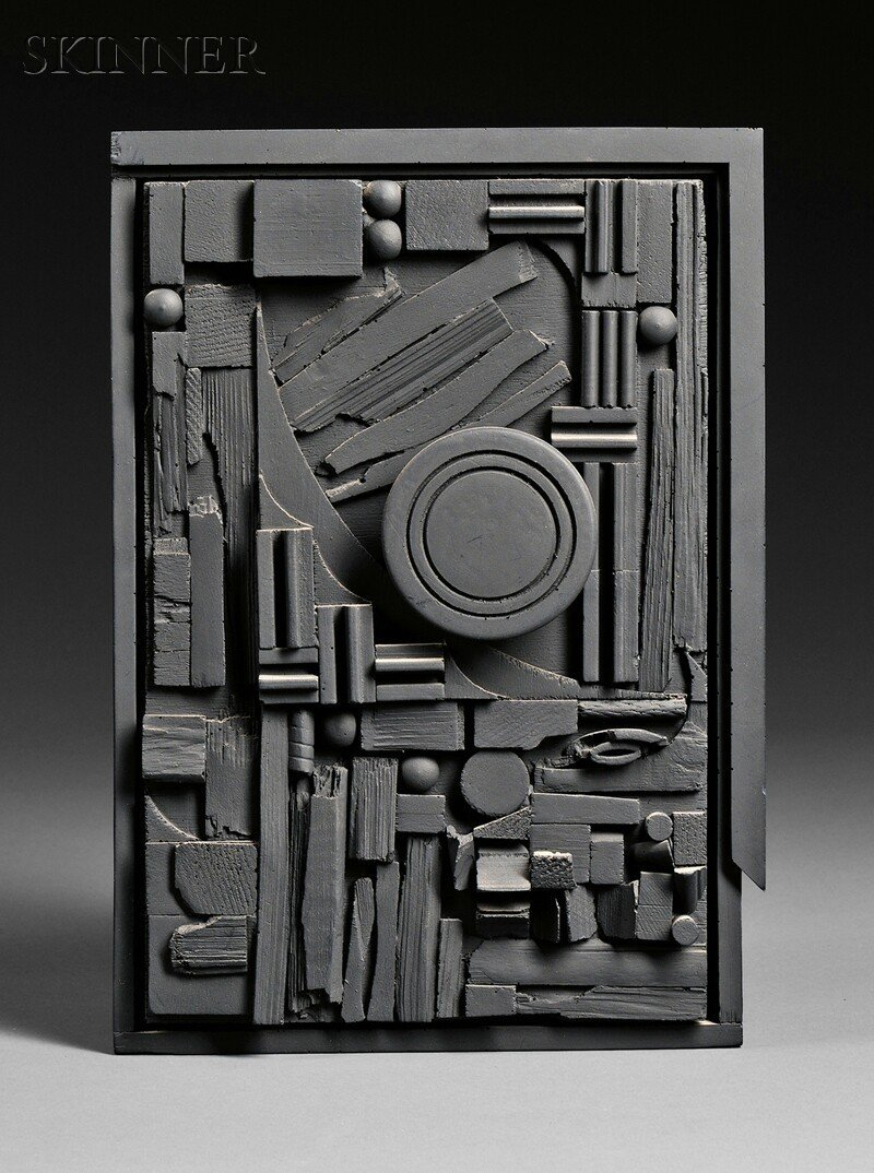 Louise Nevelson (American, 1899-1988) City-Sunscape, 19