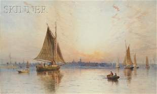 Charles Henry Gifford (American, 1839-1904) New Bedford