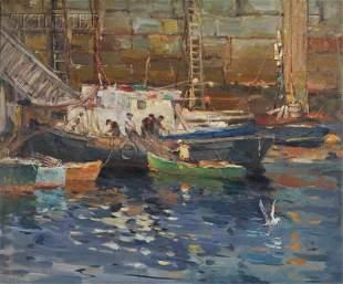 Antonio Cirino (American, 1889-1983) Day's Catch at the