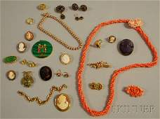 531: Small Group of Antique and Costume Jewelry, includ