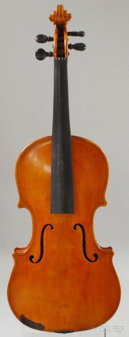 818A: American Violin, labeled J. Klayman Boston, 1929,