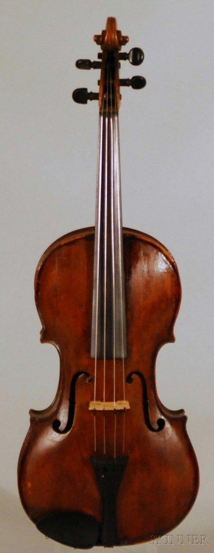 832: German Viola, c. 1780, labeled ...JACOBUS STENER..
