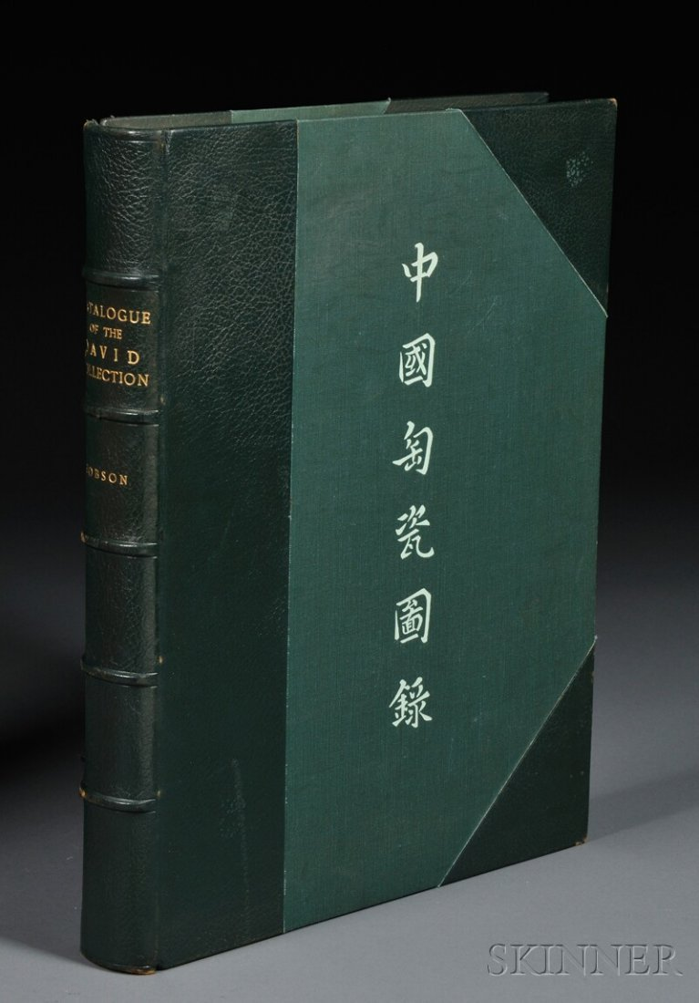 920: Hobson, R.L., A Catalogue of Chinese Pottery and P