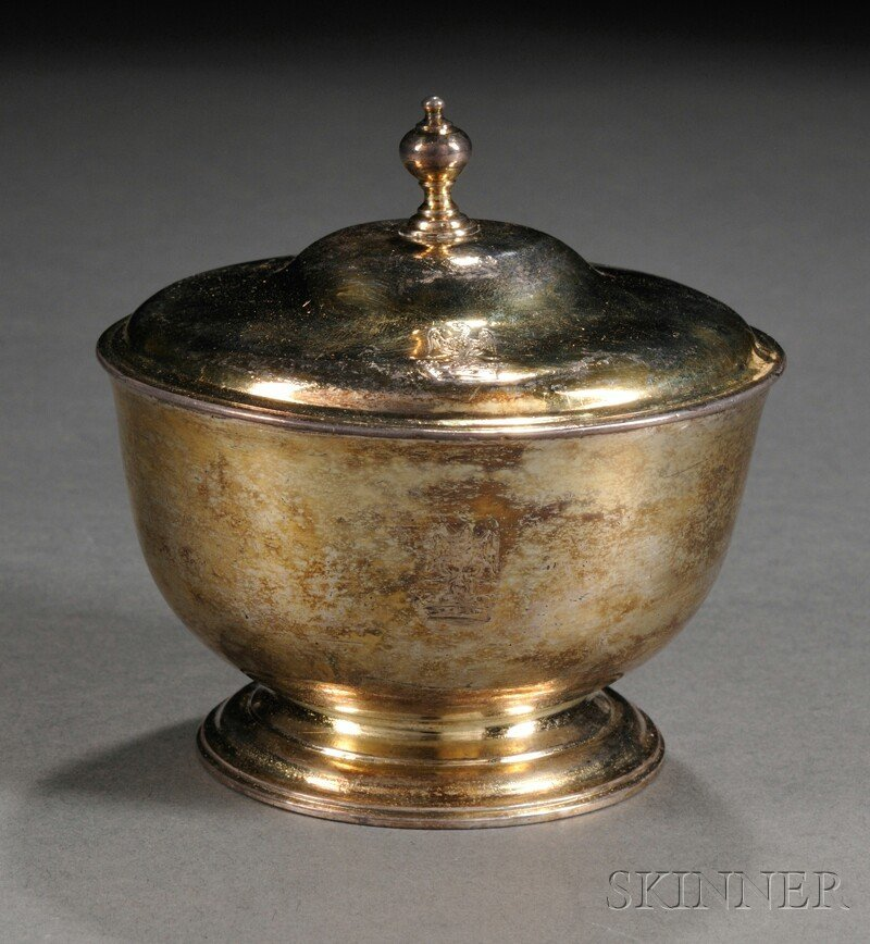 10: Irish Silver and Parcel-gilt Covered Bowl, Dublin,