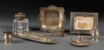 239: Ten-piece Gorham Sterling Silver Desk Set, Provide