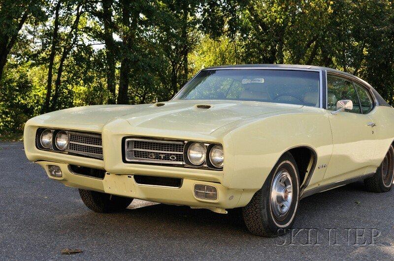 1: 1969 Pontiac GTO Hardtop, VIN 242379G1O4254, odomete