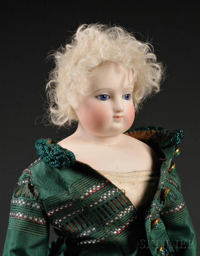 5: Early Shoulder Head French Fashion Doll, France, c.