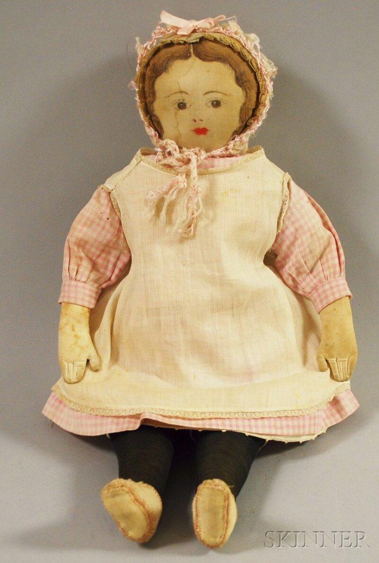 9: Moravian Cloth Doll, Bethlehem, Pennsylvania, Ladies