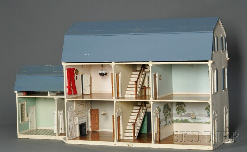 100: Tynietoy Doll House Mansion with Ell, Rhode Island