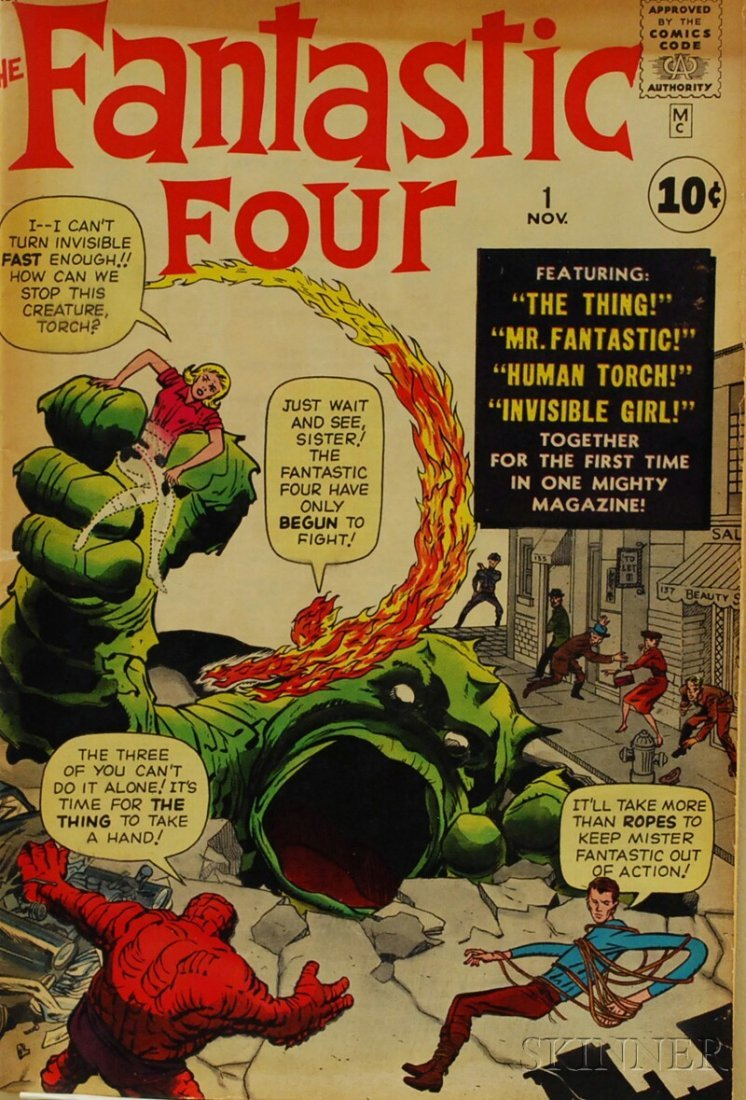 181: Silver Age Fantastic Four, No. 1, Marvel Comics, 1
