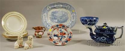 379: Twelve Assorted Ceramic Tableware and Decorative I