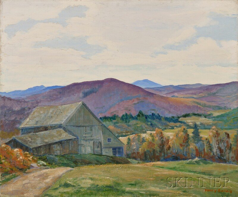 21: Henry Frederick Saling (American, b. 1901), October