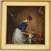 81 Alexander Oscar Levy American 18811947 Cleaning