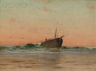 385: Attributed to Charles Henry Gifford (American, 183