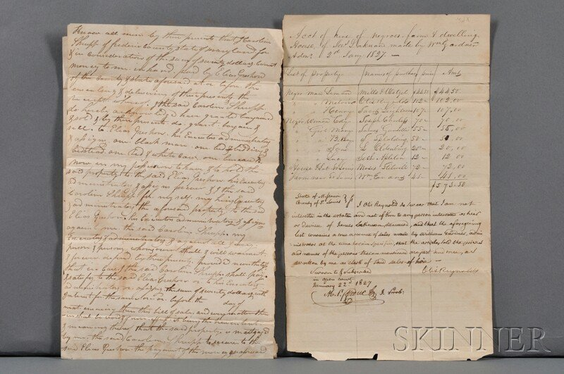 2: African-American History, Two Documents of the Slave