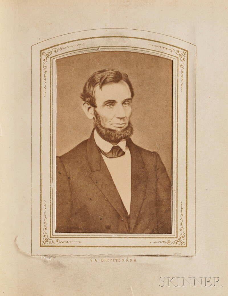 3: Album, Cartes de Visite (c. 1860):  Twenty portraits