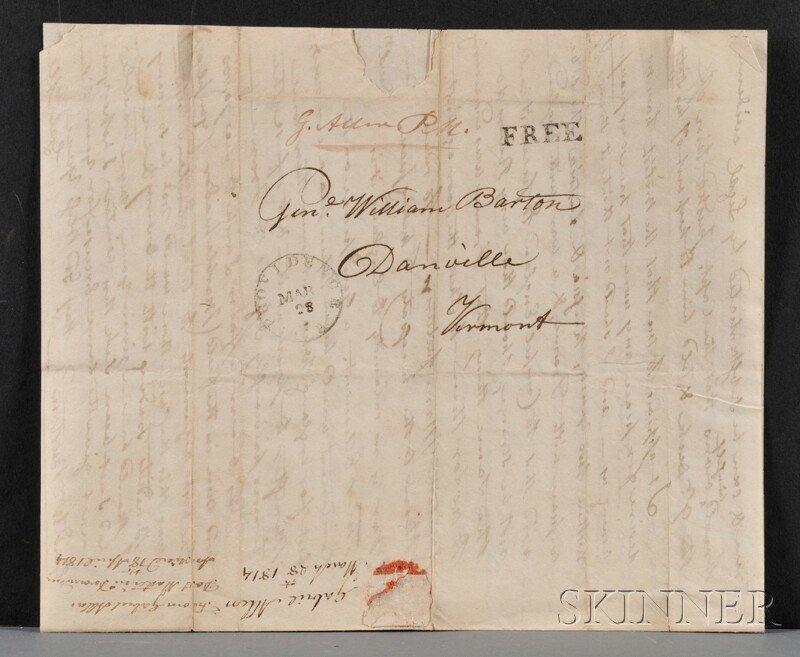 7: Barton, William (1748-1831) Military Archive, War of