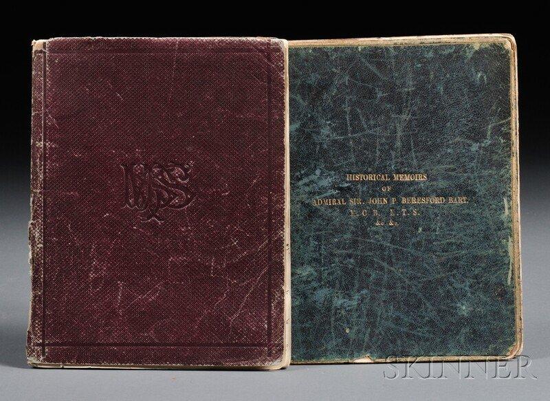 8: Beresford, Sir John Poo, (1766-1844) Two Manuscript