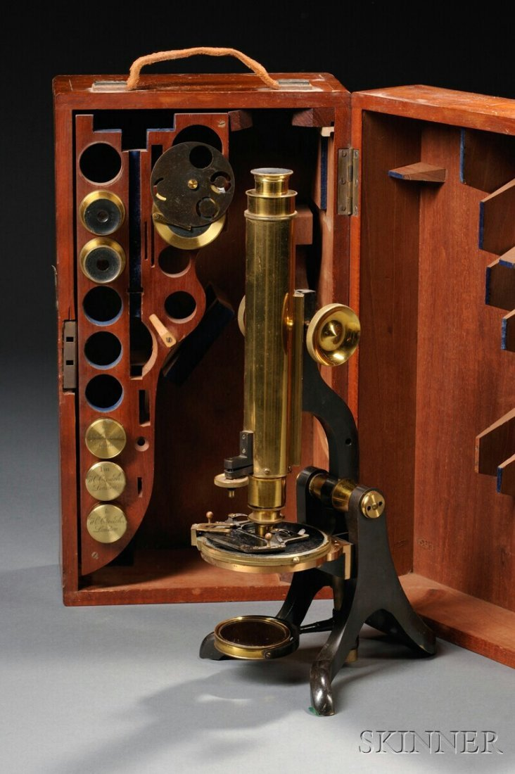 13: Henry Crouch Compound Microscope, London, c. 1880,