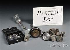 601 Collection of Bench Tools and Lathe Accessories i