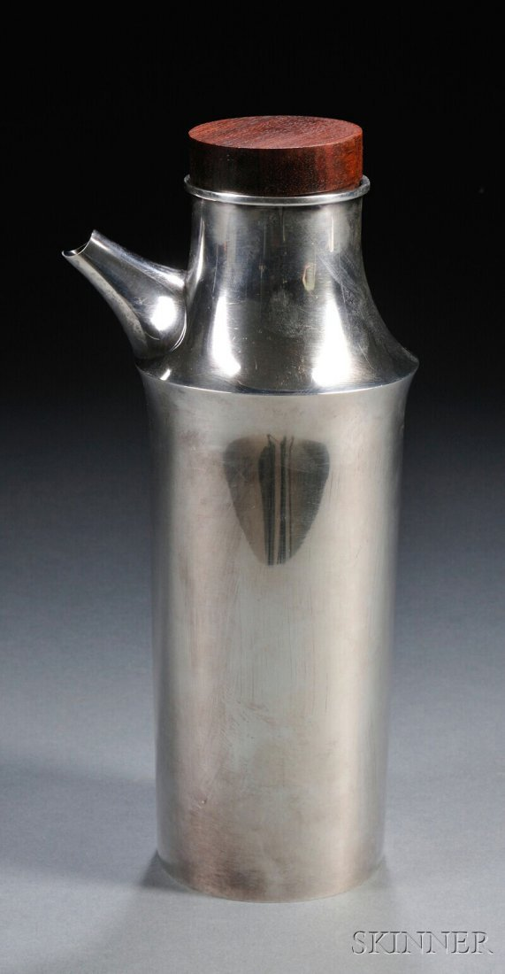 3: , Scandinavian Silver Decanter, Sterling silver and