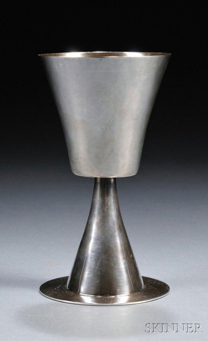 17: , Henry Petzal Silversmith (1906-2002) Cup, Handwro
