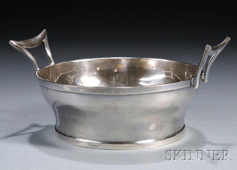 23: , Henry Petzal Silversmith (1906-2002) Small Bucket