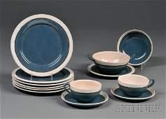 295: , Saturday Evening Girls Dinnerware, Art pottery,