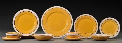296: , Saturday Evening Girls Dinnerware, Art pottery,