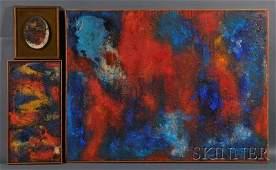 640: Yeffe Kimball (American, c. 1905-1978), Three Work