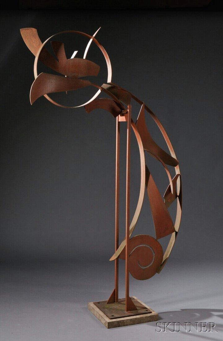 668: , Mark Wallis Gypsy Dancer No. 3 Garden Sculpture,
