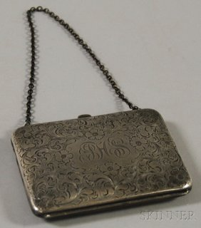 12: Pryor Manufacturing Co. Sterling Silver Lady's Purs
