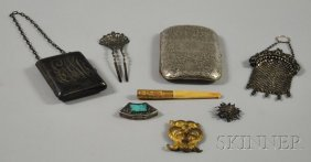 14: Small Group of Personal and Accessory Items, a ster