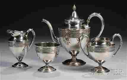 "72: Four-piece International ""Wedgwood"" Sterling Silver"