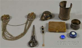 92: Small Group of Mostly Sterling Silver Personal and