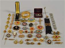170 Group of Assorted Mostly Antique Jewelry includin
