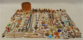 174 Group of Assorted Costume Jewelry including Victo