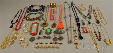 270: Small Group of Costume Jewelry, including a Zoe Li