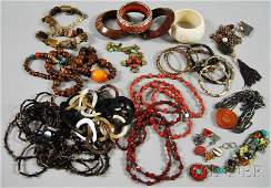 503: Group of Designer and Handmade Costume Jewelry, in