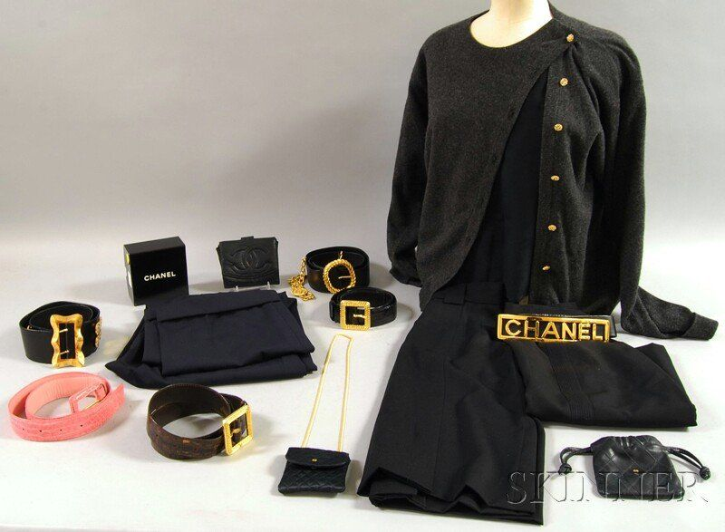 Chanel Clothing and Accessory Group, including six
