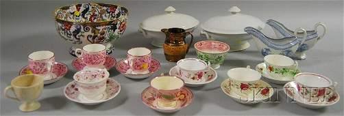 1148: Twenty-eight Pieces of Assorted English Ceramic T