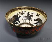 260: Wedgwood Fairyland Lustre Lahore Imperial Bowl, En