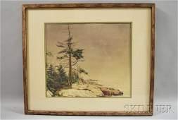 188: Virginia Strom Precourt (American, b. 1916) Pine T