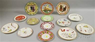 502 Fourteen Wedgwood Decorated Ceramic Plates includ