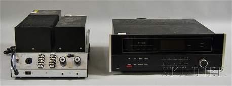 674: Two McIntosh Stereo Components, Binghamton, New Yo