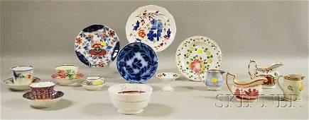804: Eighteen Assorted 19th Century English Ceramic Ite