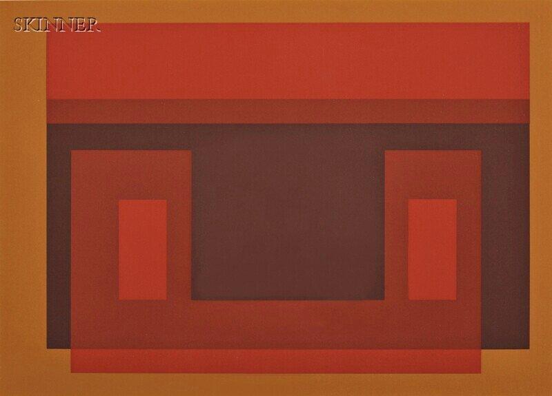 3: Josef Albers (German/American, 1888-1976) Four Image