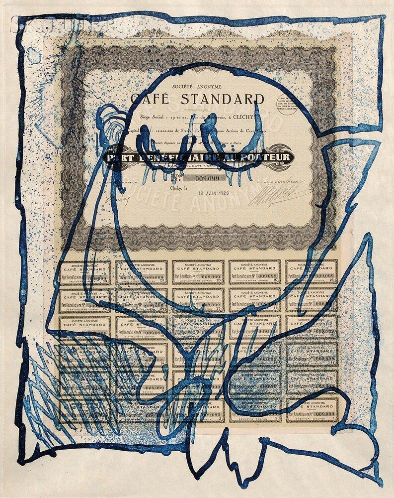 5: Pierre Alechinsky (Belgian, b. 1927) KRACH/A Portfol