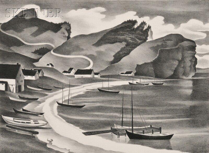 6: Vera Andrus (American, 1896-1979) Les Trois Soeurs,