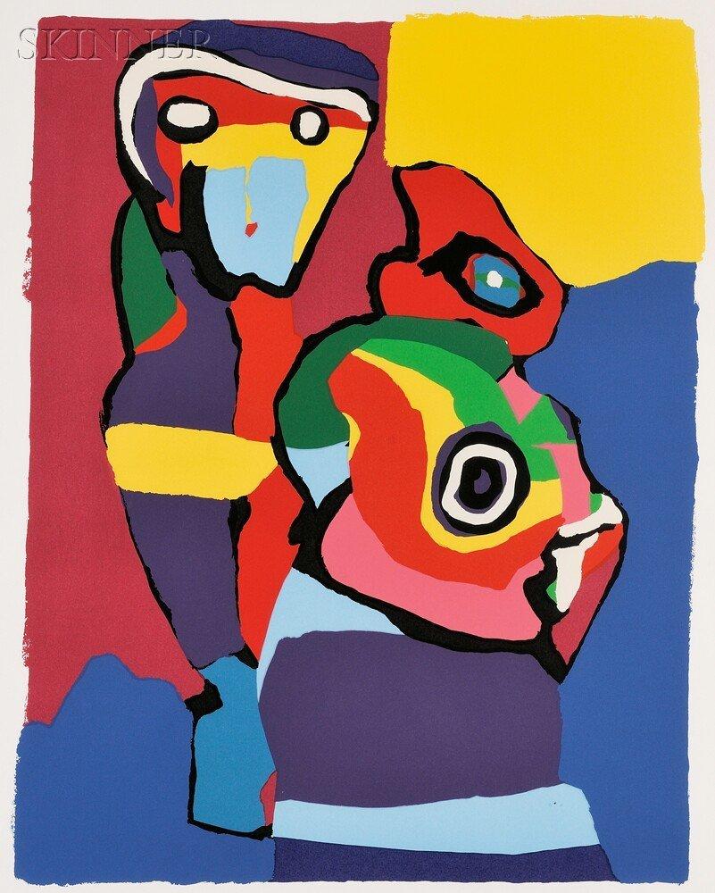 8: Karel Appel (Dutch, 1921-2006) Untitled, 1973. Signe